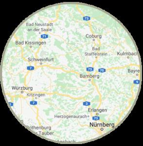Freie Trauung Franken, Bayern, Hessen